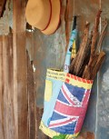 Bodj Union Recycled Log Bucket hung up